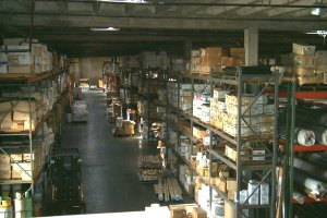 Ray West Warehouses interior